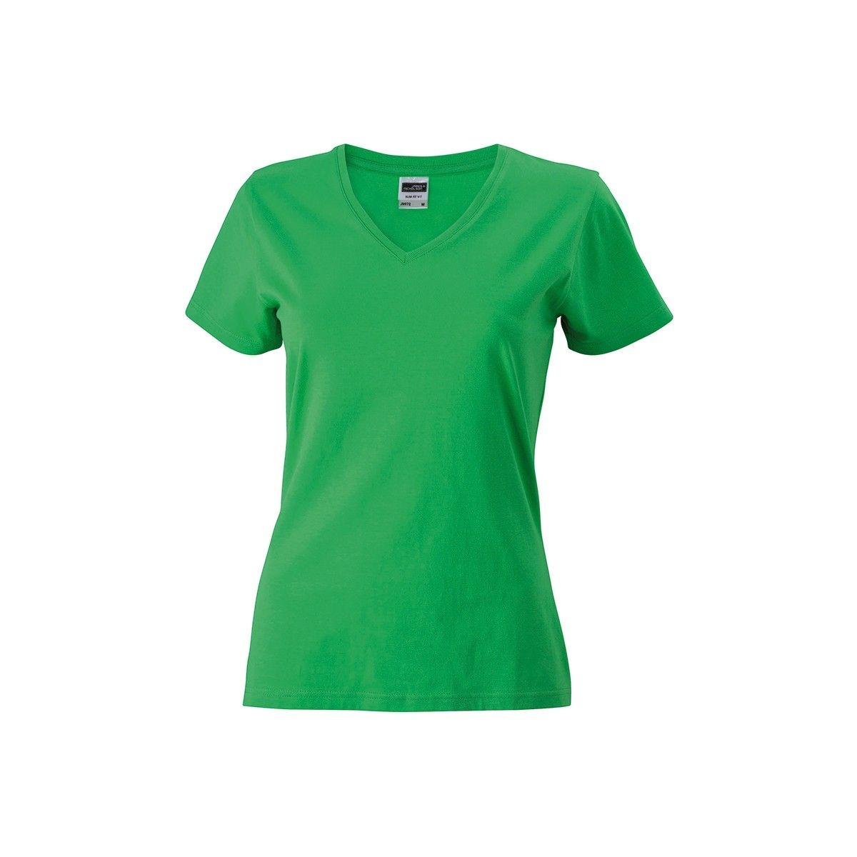 Tee-shirt cintré col V