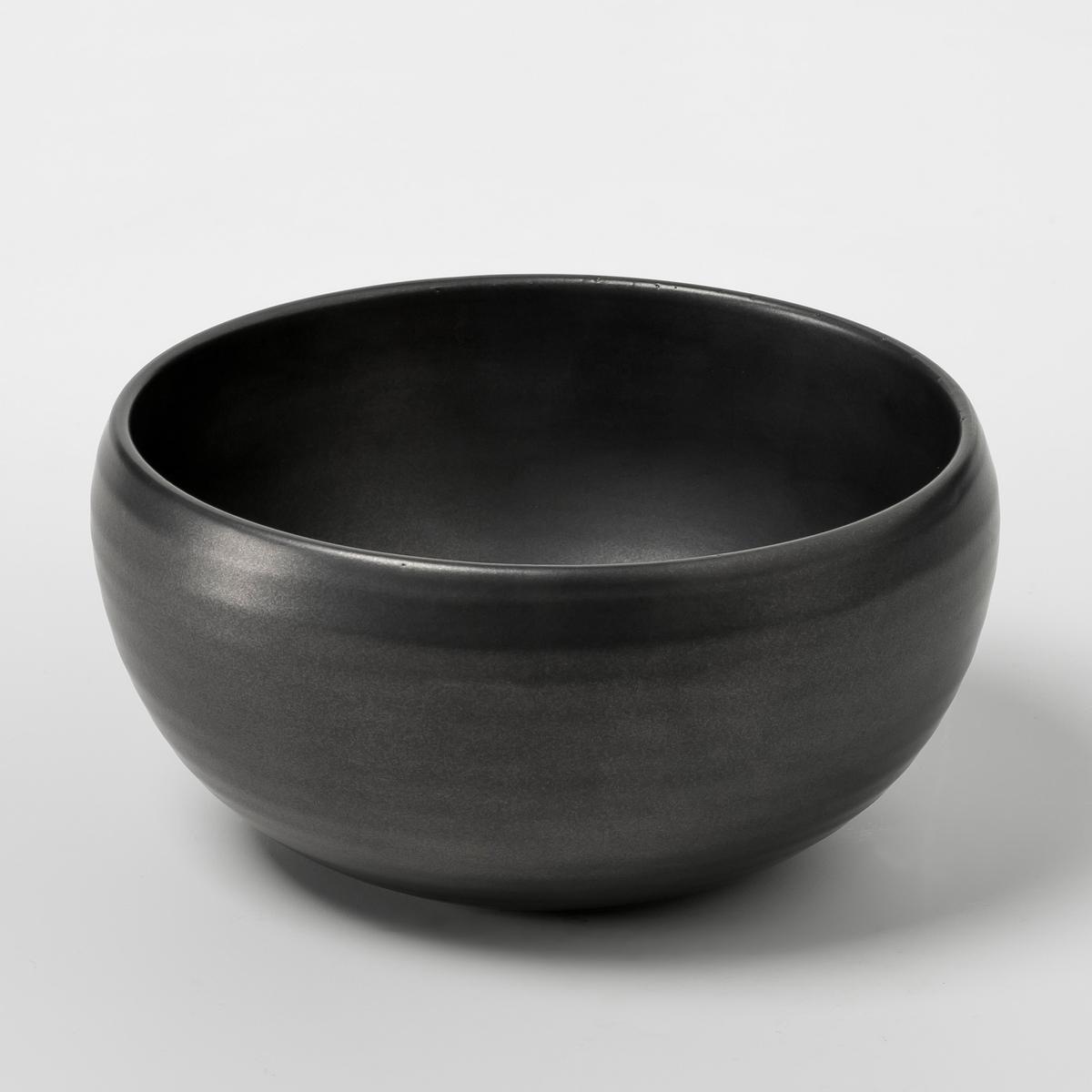 Чашка из керамики Pure дизайн П.Нессенса, SeraxХарактеристики: - Из матовой керамики с эффектом чеканки .- Можно использовать в посудомоечных машинах и микроволновых печах.- Десертная и плоская тарелки из комплекта продаются на нашем сайте .Размеры  :- ?14,5 x Выс 7 см .<br><br>Цвет: черный