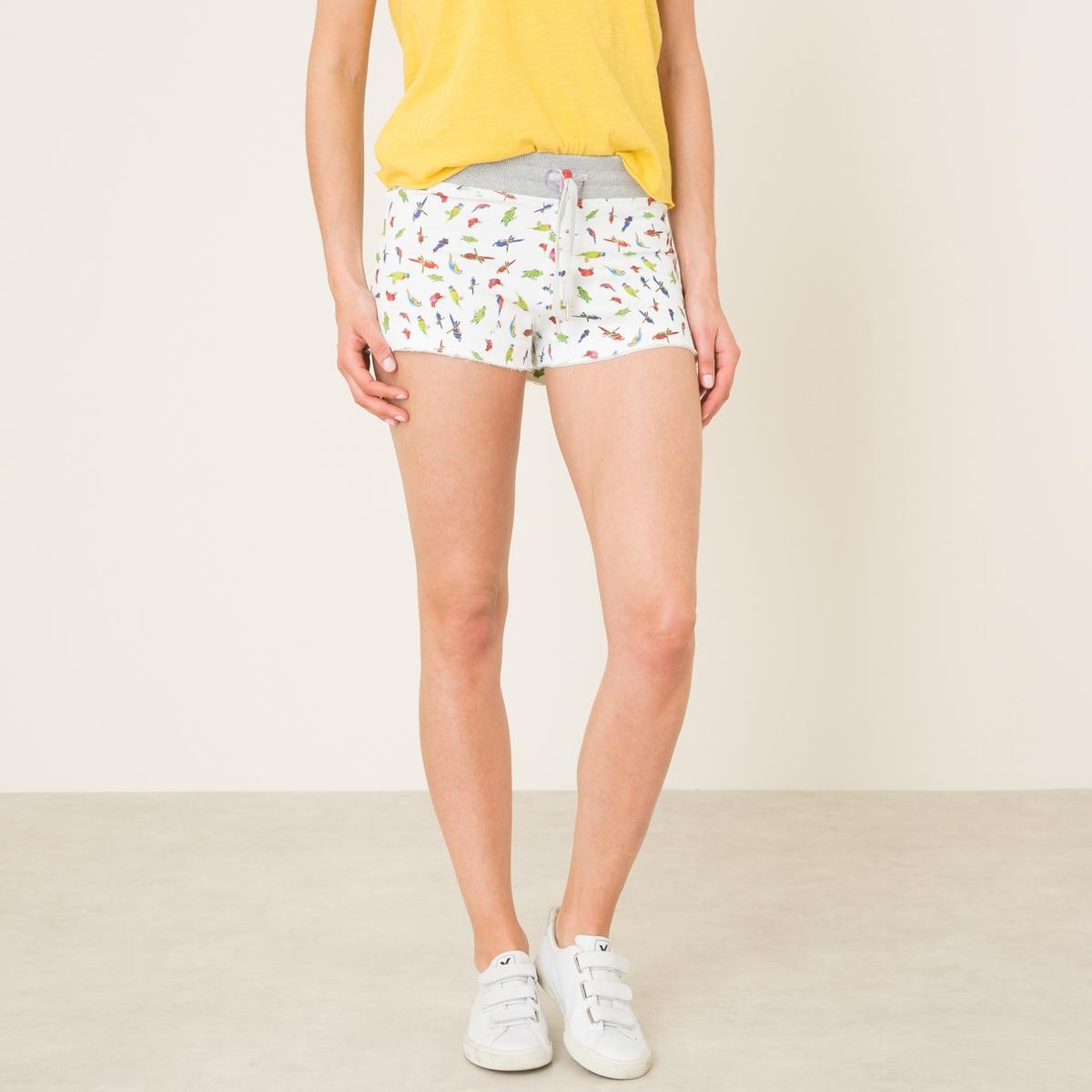 Шорты SHORTY PRINTСостав и описание    Материал : 100% хлопок   Марка : SWEET PANTS<br><br>Цвет: белый наб.рисунок<br>Размер: M