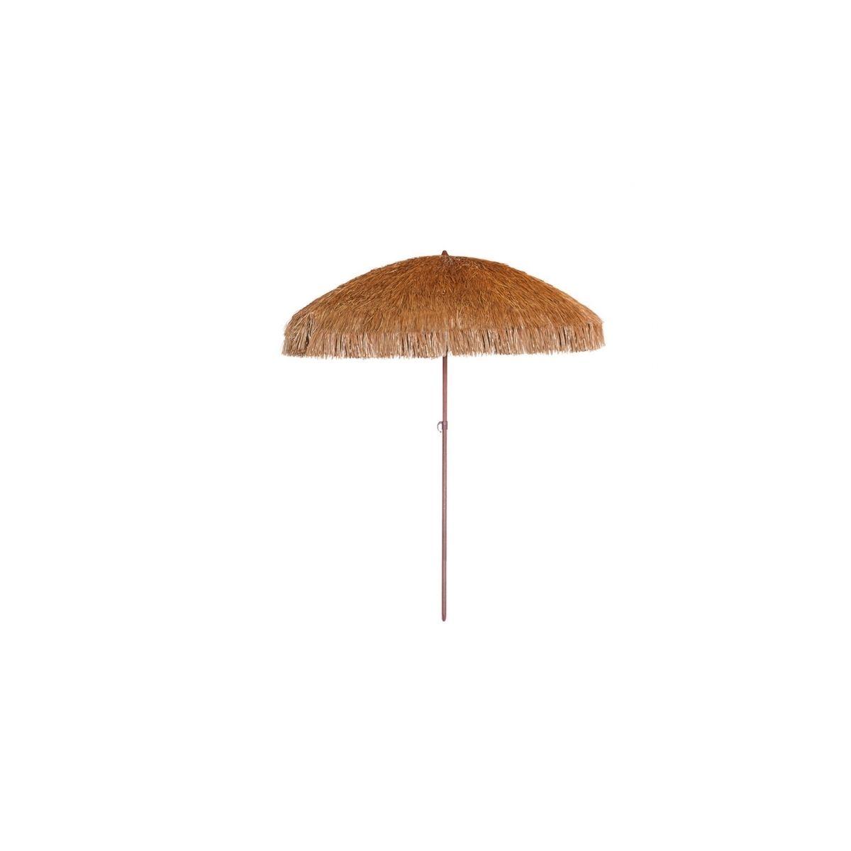 Parasol de plage en paille Palloza Ezpeleta