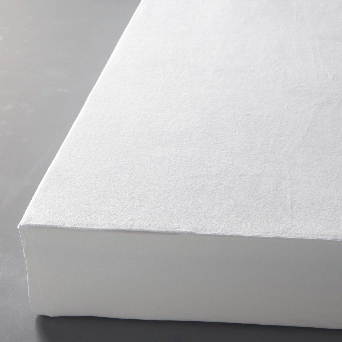 Чехол La Redoute Защитный для матраса 60 x 120 см белый защитный тент чехол avtotink автомобильный размер l 480 500 x 178 x 120 см
