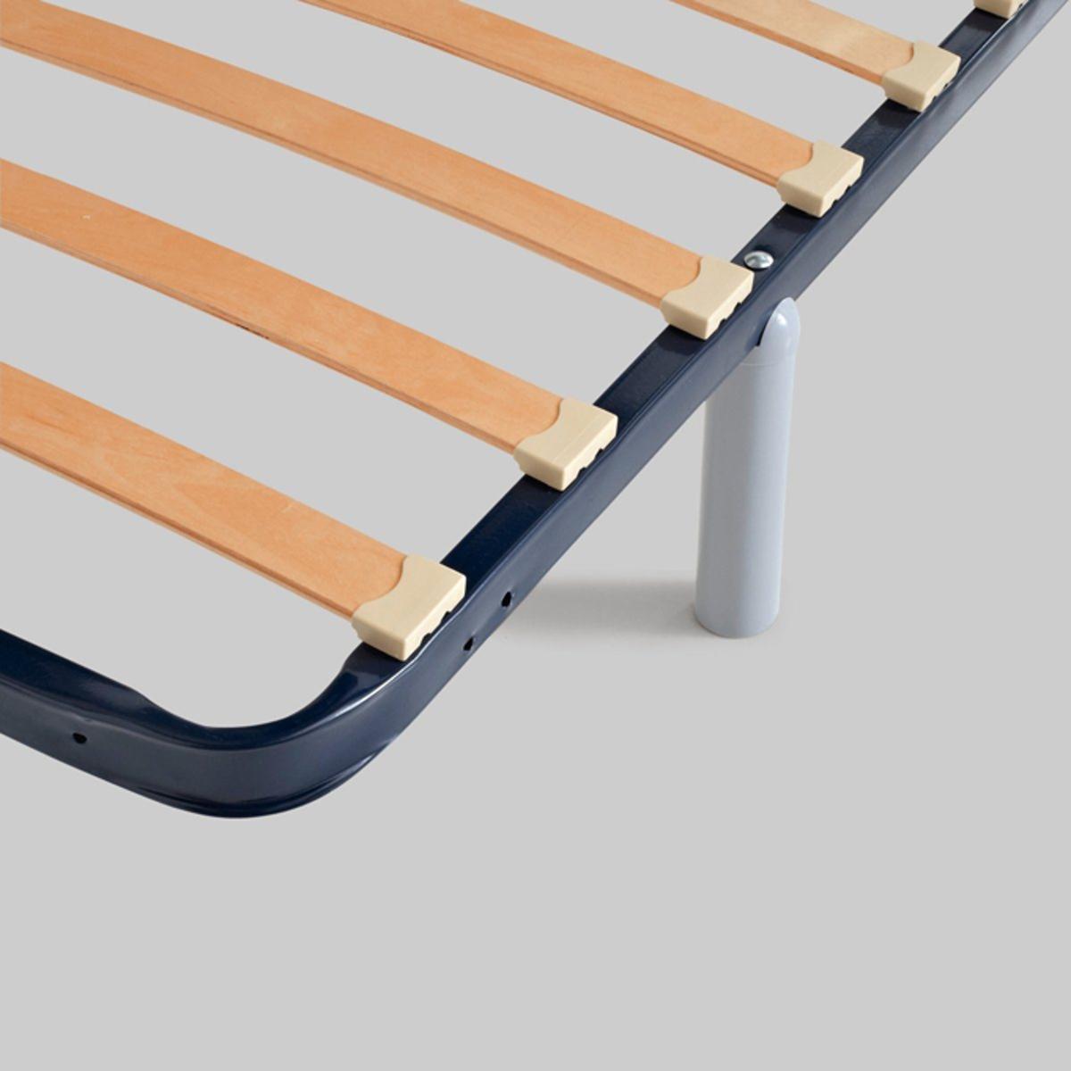 4 ножки для каркаса кроватиДля двойных основ под матрас заказывайте 2 набора из 4 ножек.<br><br>Цвет: серый