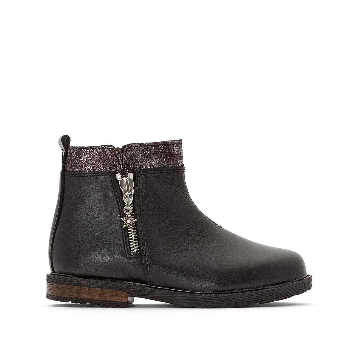 Boots cuir Sirina
