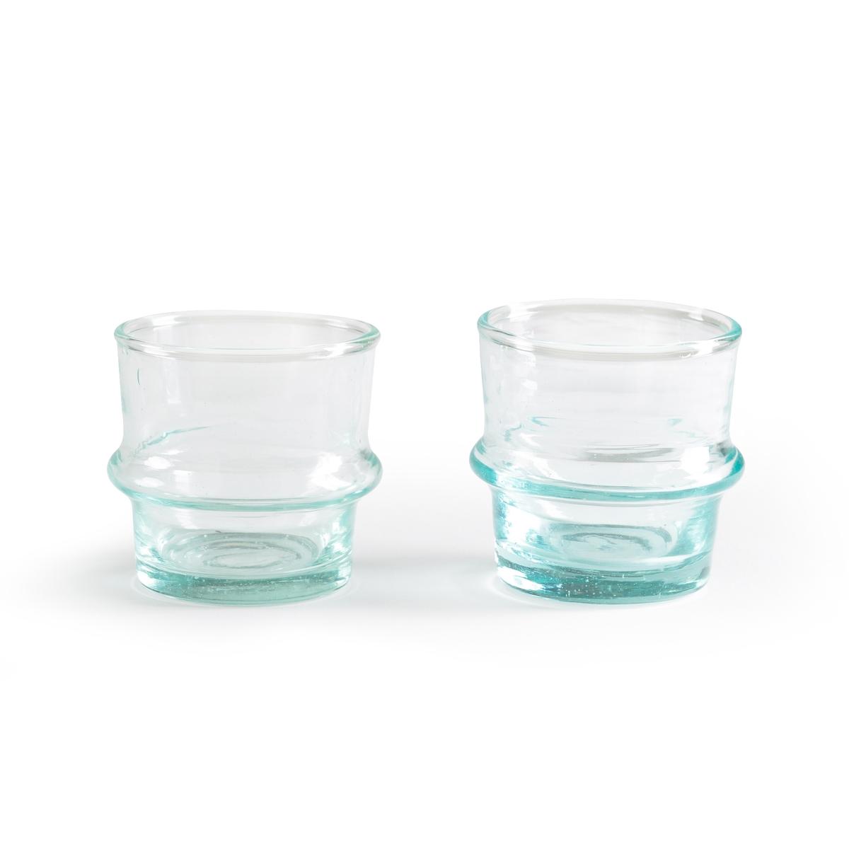 Подсвечник из дутого стекла Morewen (в комплекте 2 изделия)2 подсвечника Morewen. Из дутого стекла. Размер : ?6 x H6 см.<br><br>Цвет: бирюзовый