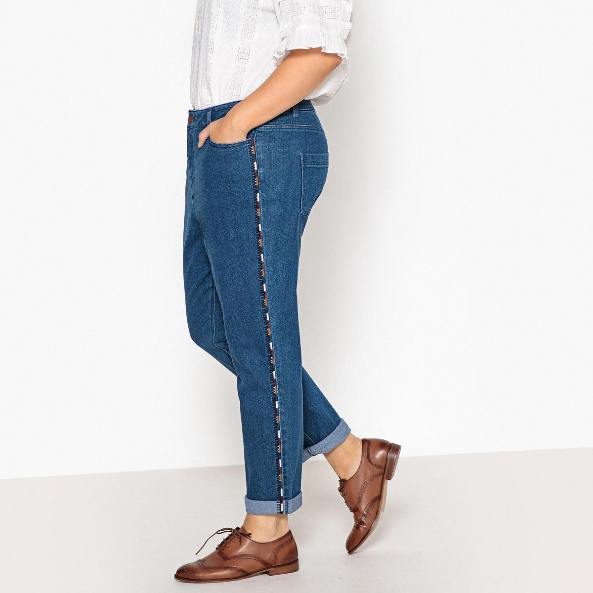 Jeans boyfit bordado