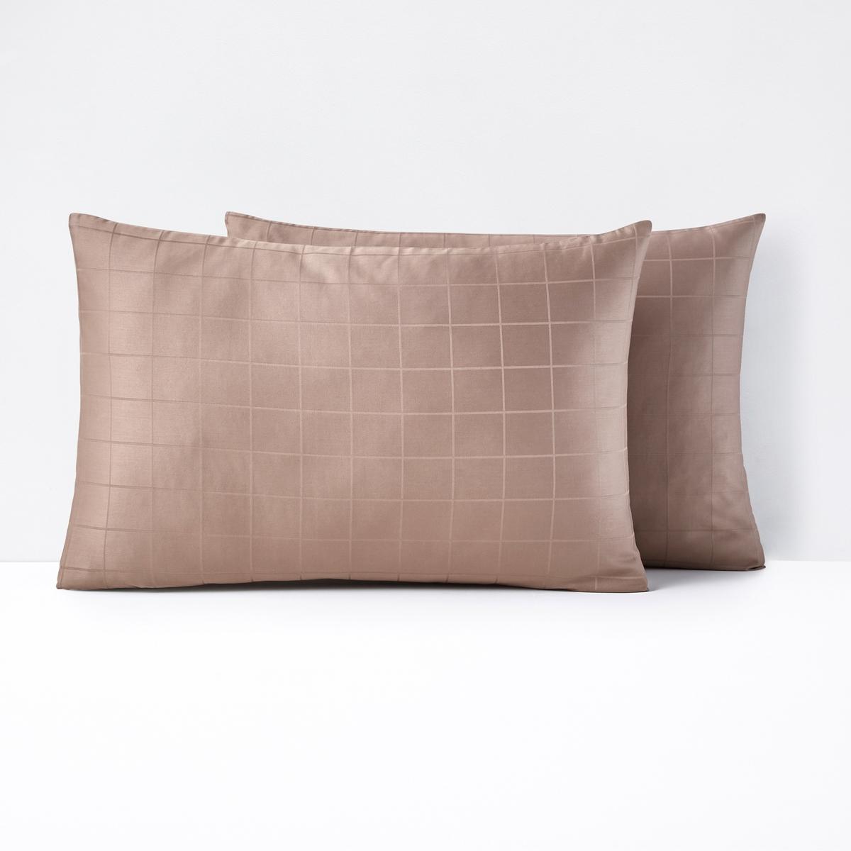 Fronha em cetim de algodão, aos quadrados