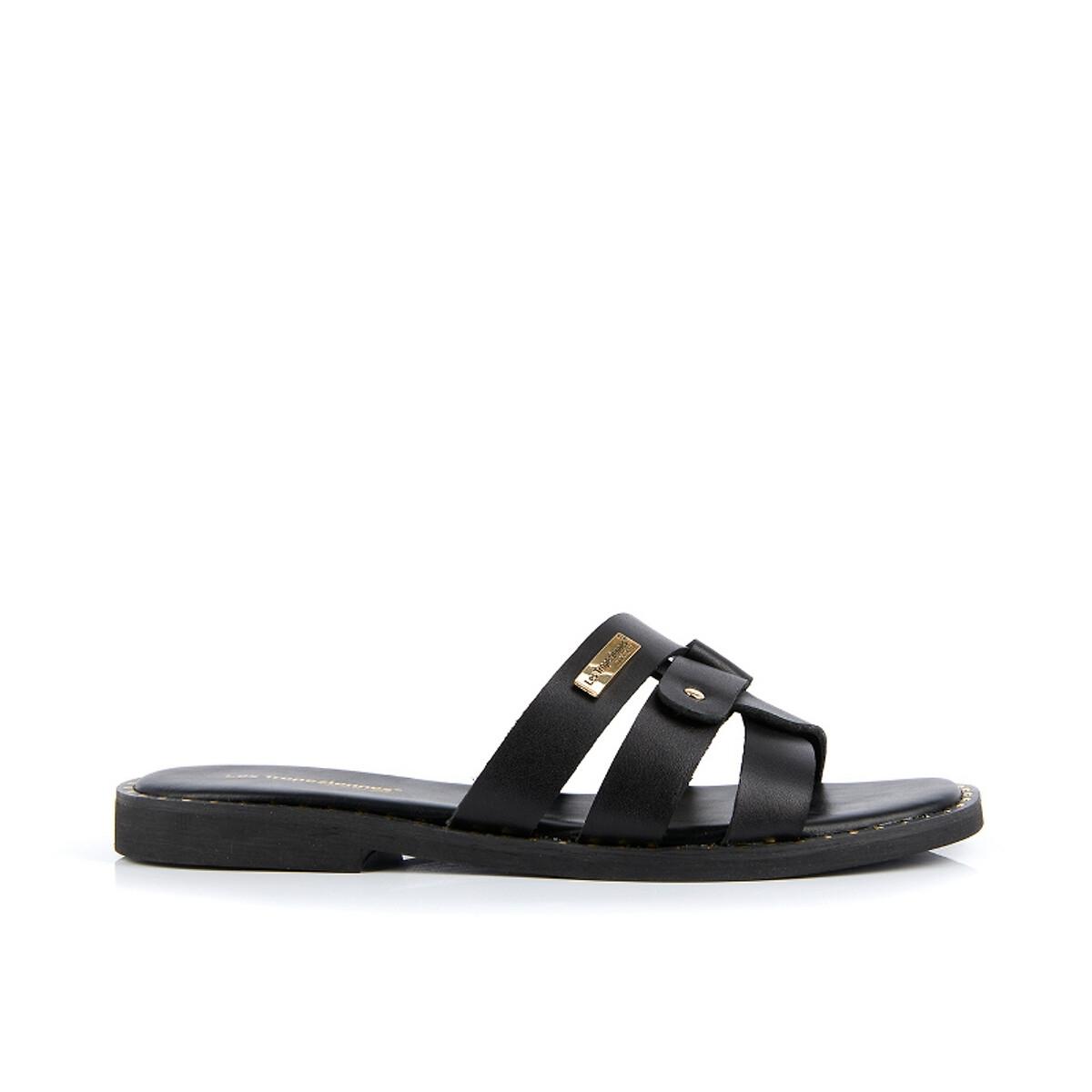 Туфли LaRedoute Без задника кожаные Carola 36 черный туфли без задника boite