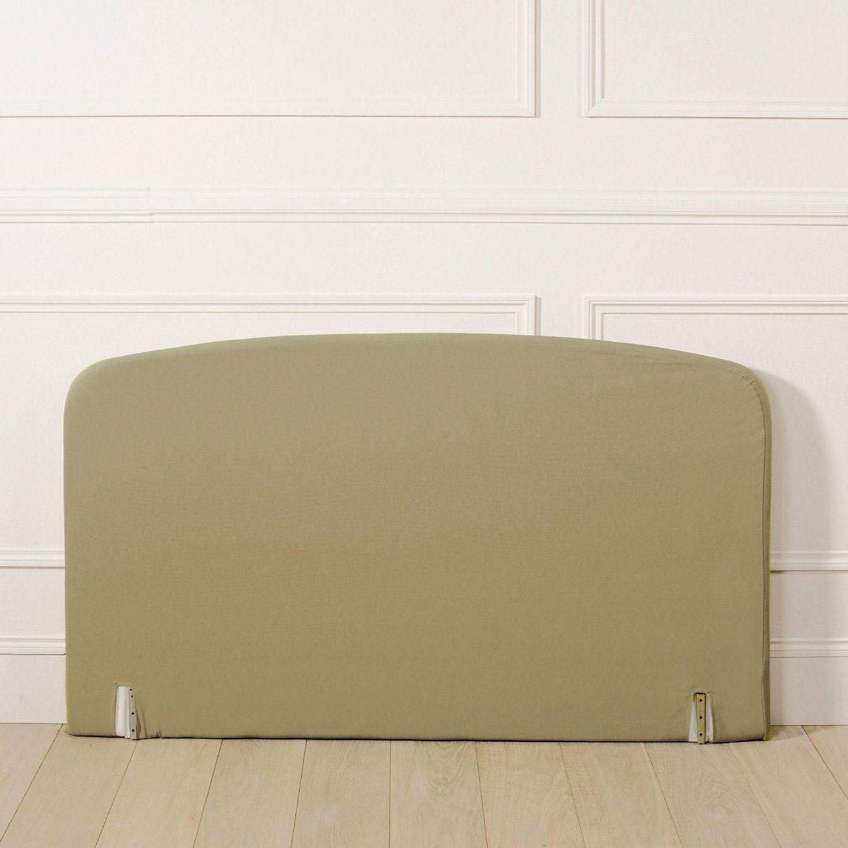 Housse pour tête de lit, forme galbée
