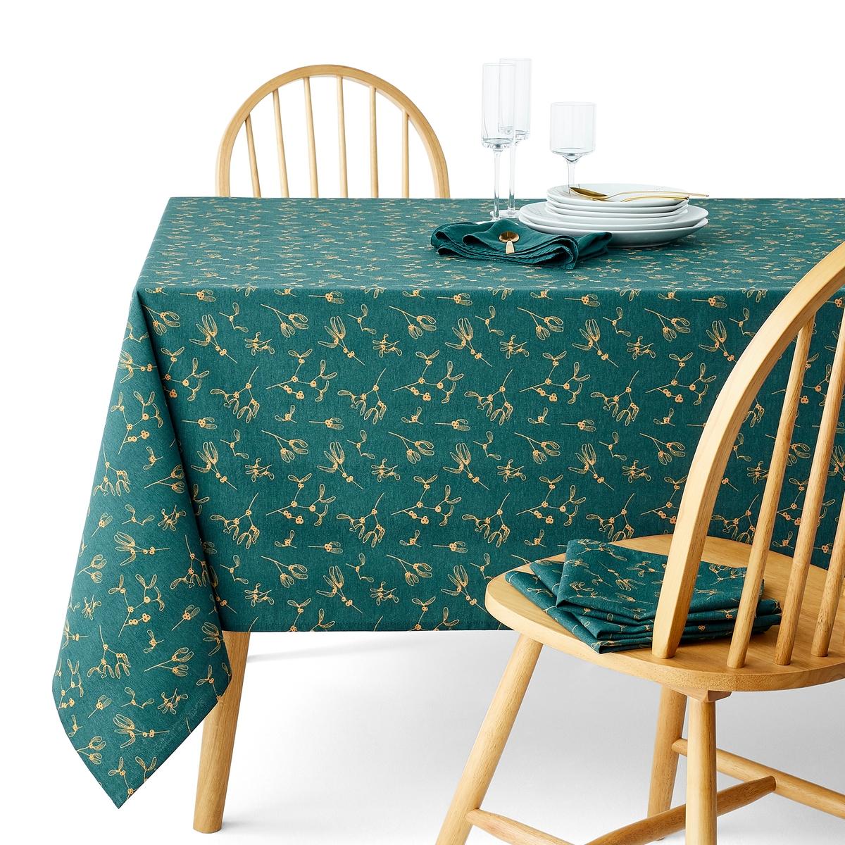 Toalha de mesa estampada com tratamento antinódoas, Gui