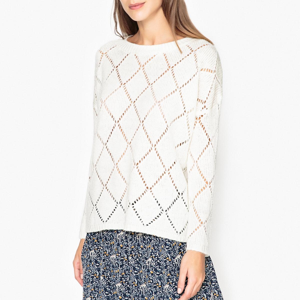 Пуловер из ажурного трикотажа CALANQUE