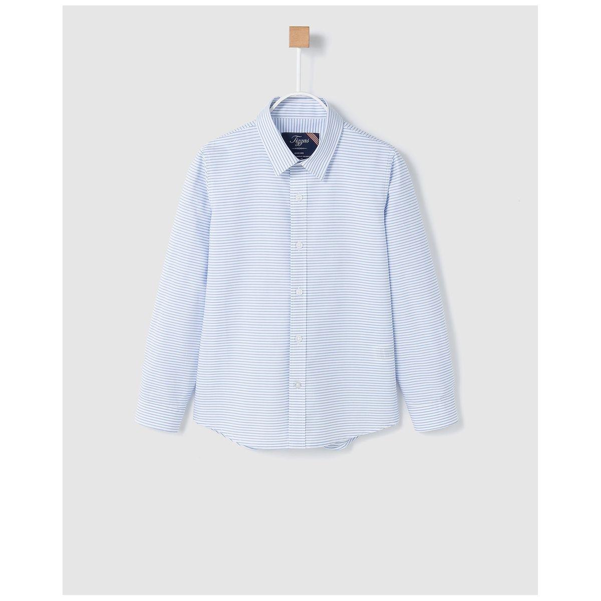 Chemise à motif horizontales  /