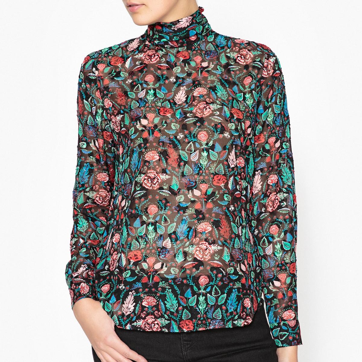 Блузка с принтом OFRA