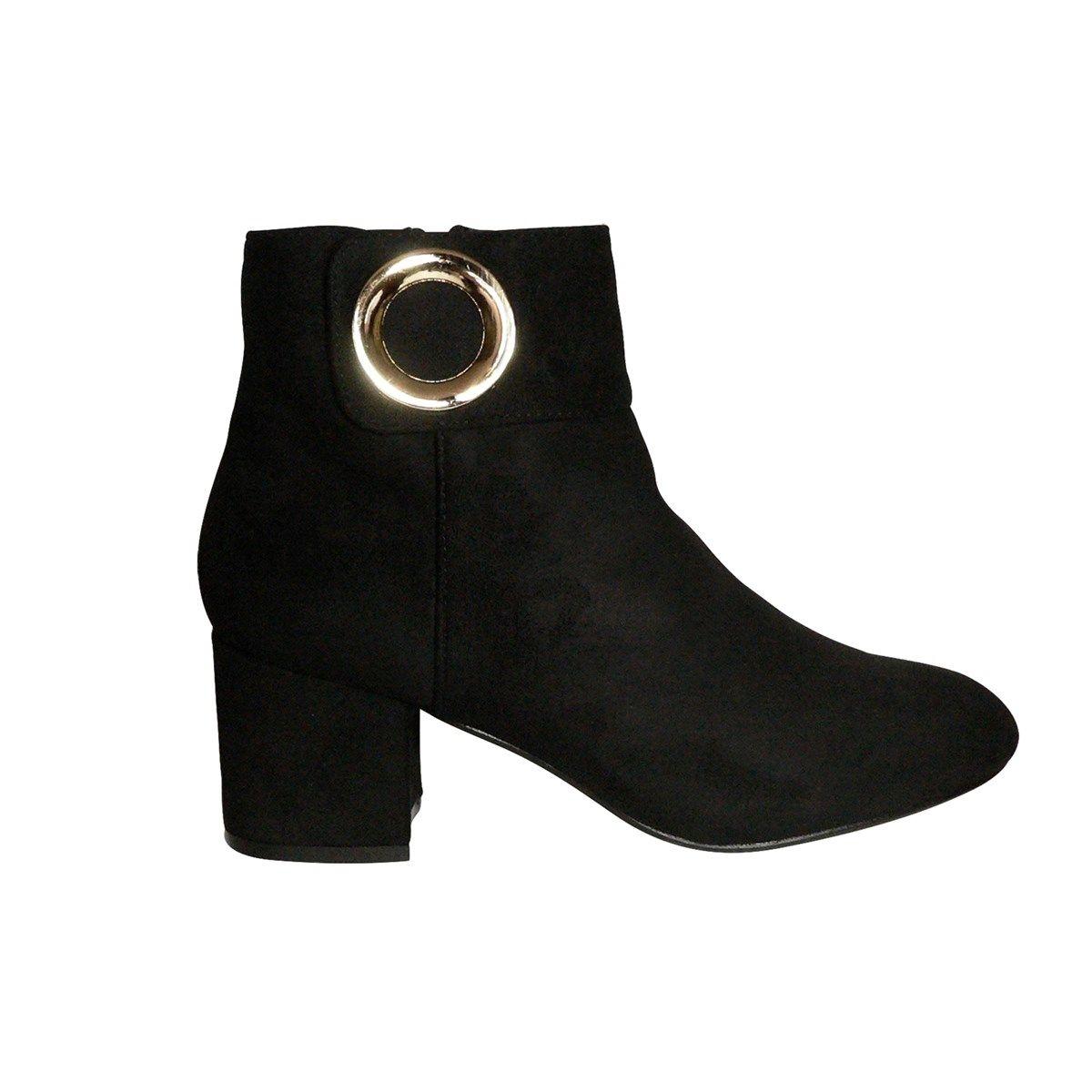 Boots Suédine Bianca