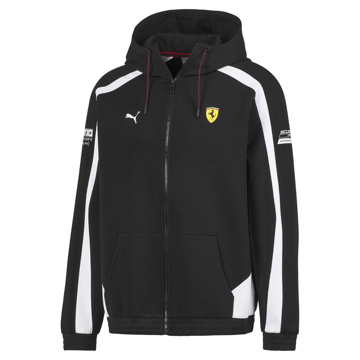 Sudadera con cremallera y capucha Motorsport Ferrari