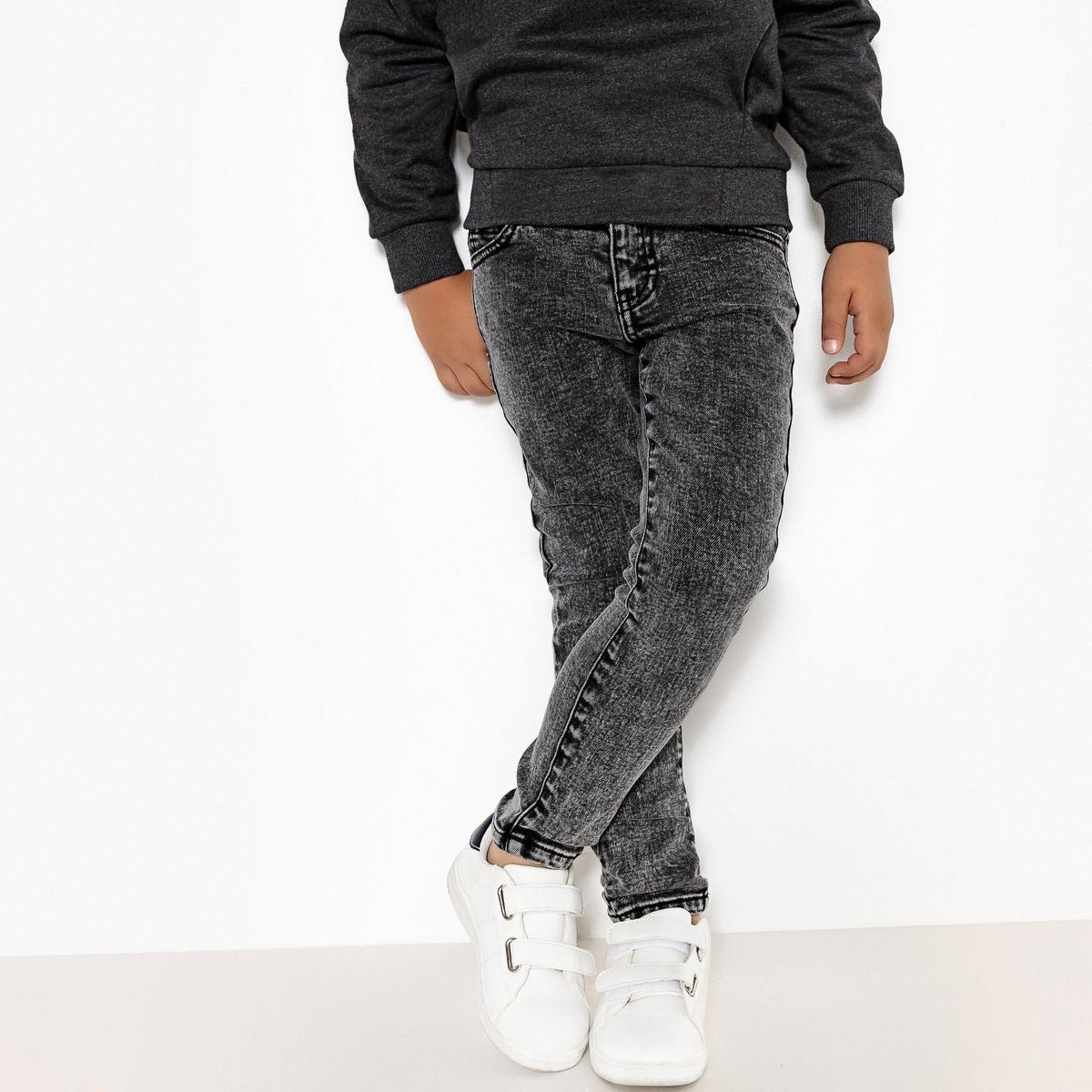 Джинсы узкие серого цвета, 3-12 лет джинсы boyfit 3 12 лет