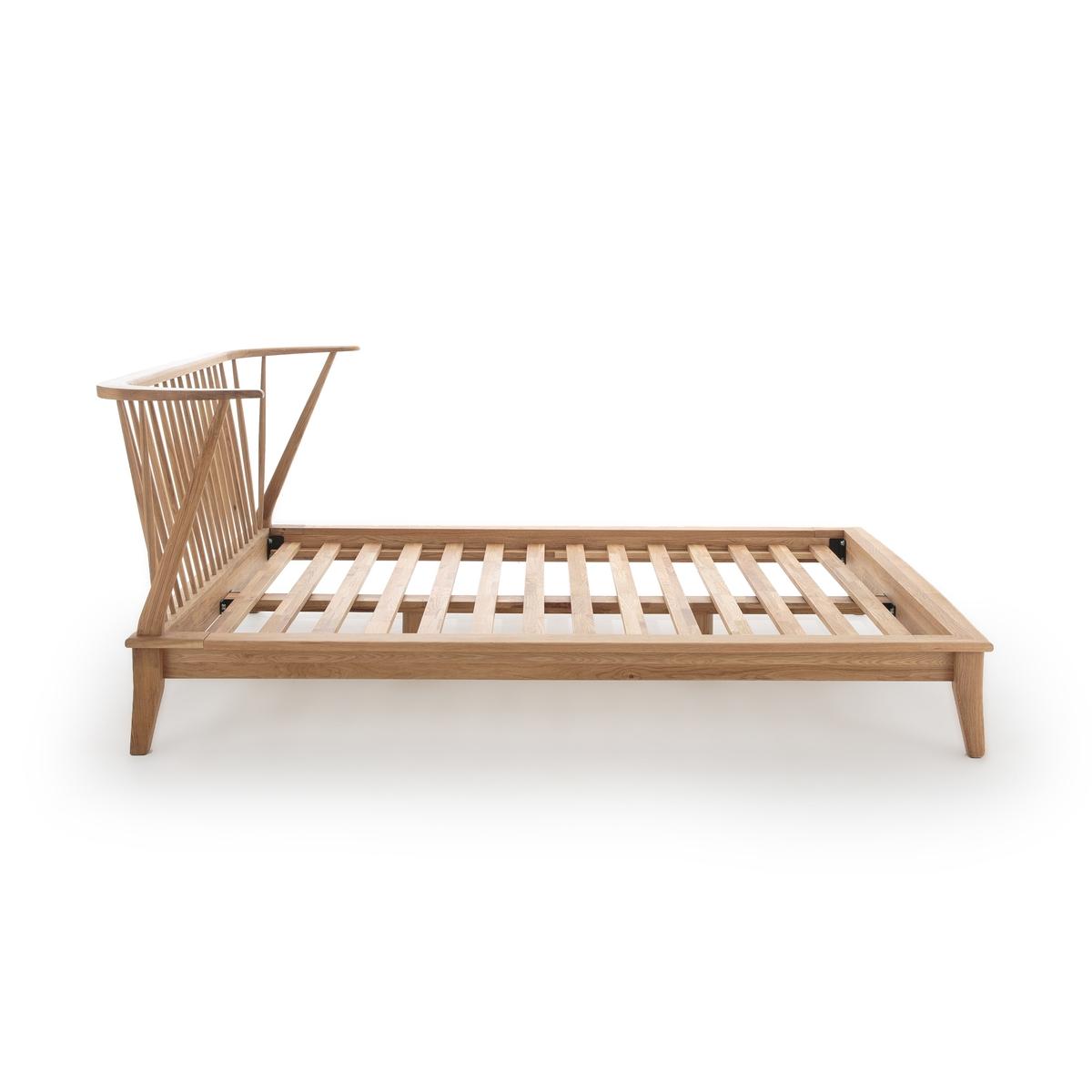 Кровать La Redoute Из массива дуба Windsor 160 x 200 см каштановый