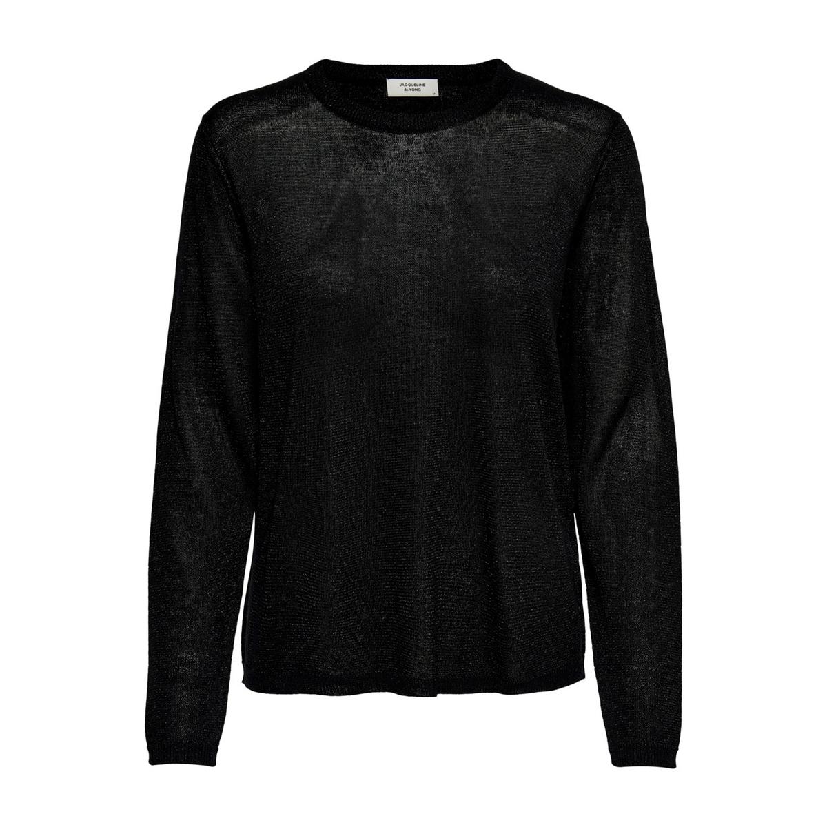 Пуловер La Redoute С круглым вырезом и длинными рукавами S черный пуловер la redoute с круглым вырезом и длинными рукавами m каштановый