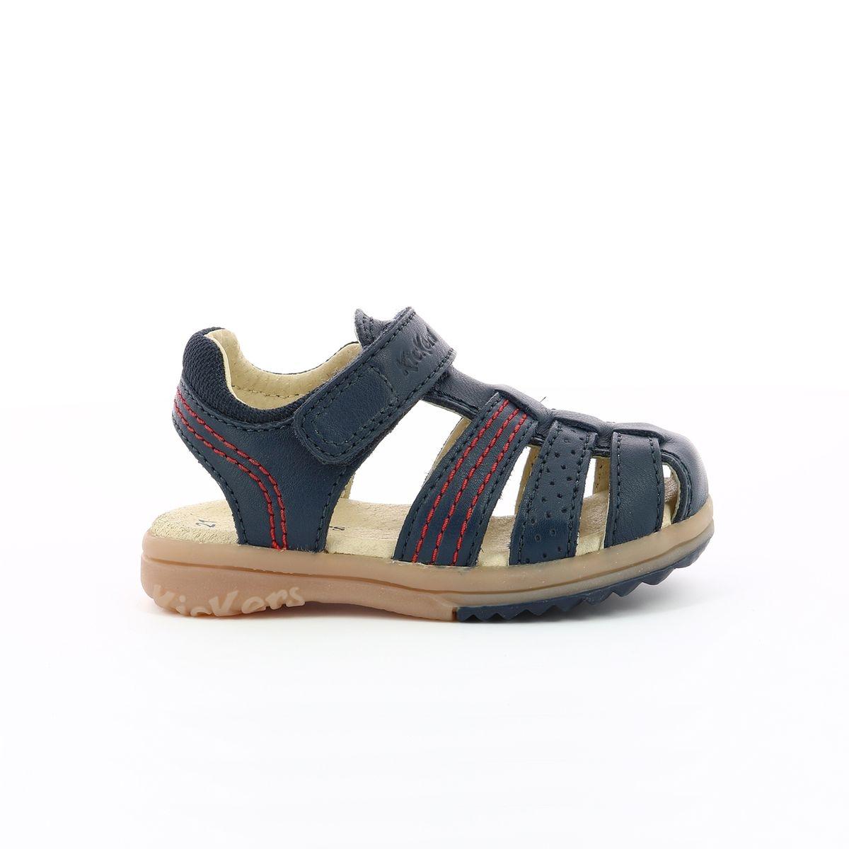 Sandales en cuir Platinium