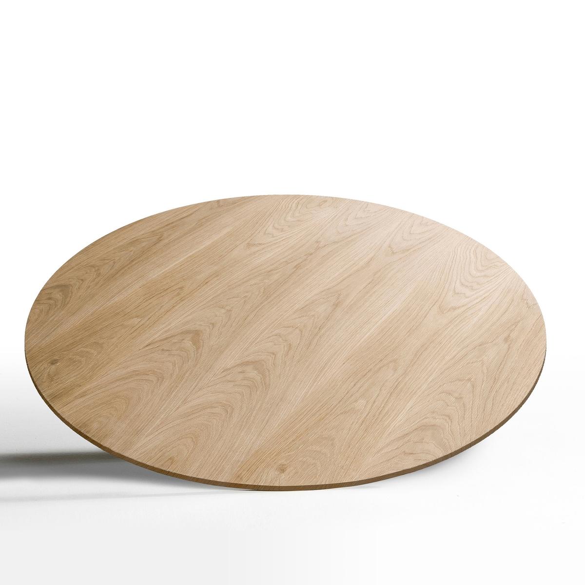 Столешница, диаметр 120 см, HisiaСтолешница Hisia. Сочетается с металлической ножкой в форме тюльпана Hisia, представленной на нашем сайте.Характеристики:Столешница из МДФ, покрытого дубовым шпоном, натуральных цветов или краска под орех.Размеры:диаметр 120 см.Размеры и вес упаковки:141 x 4 x 141 см, 21,5 кг Доставка на домВаш товар будет доставлен по назначению, прямо на этажВнимание! Пожалуйста, убедитесь, что упаковка пройдет через проемы (двери, лестницы, лифты)<br><br>Цвет: натуральный дуб