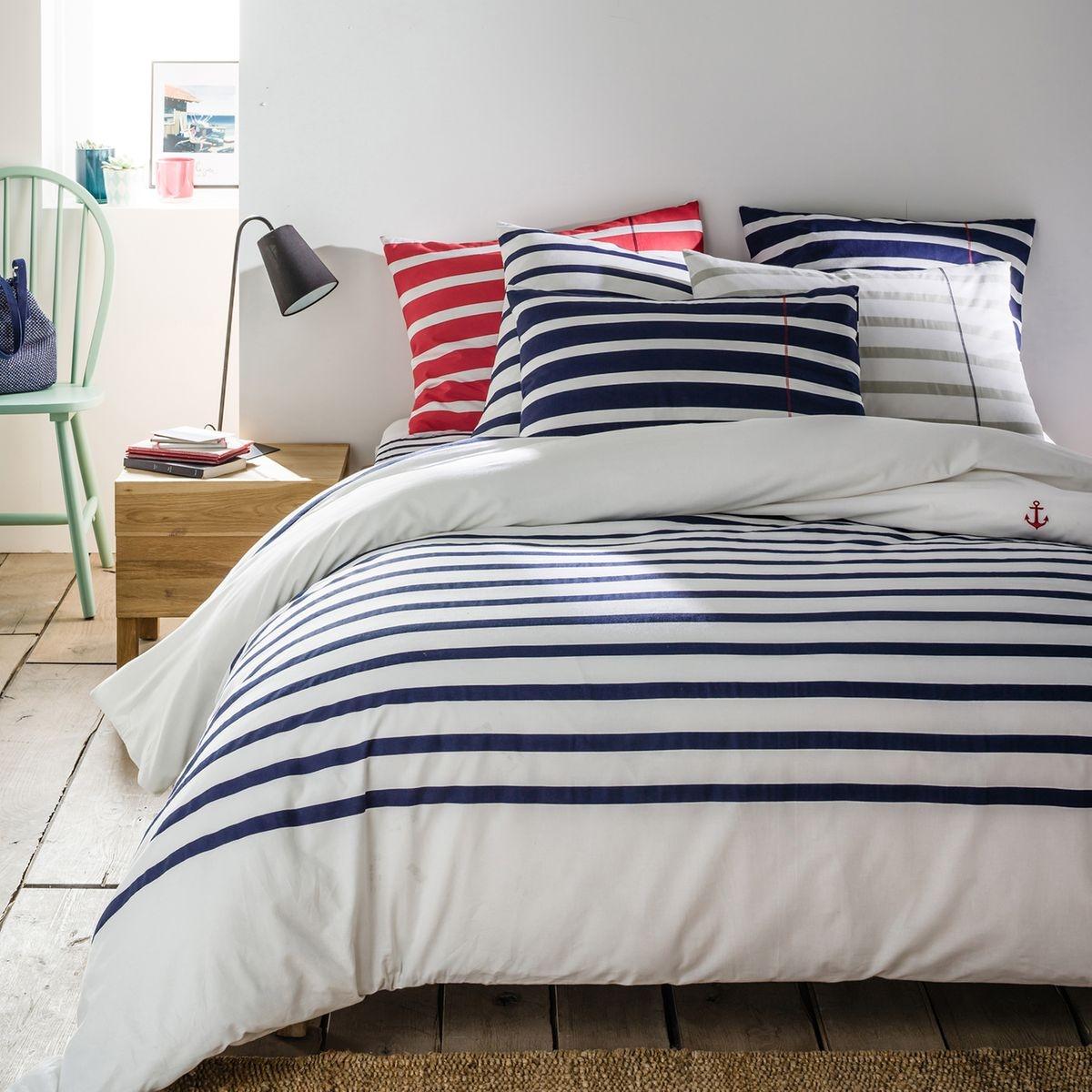 achat housse de couette linge de maison maison et. Black Bedroom Furniture Sets. Home Design Ideas