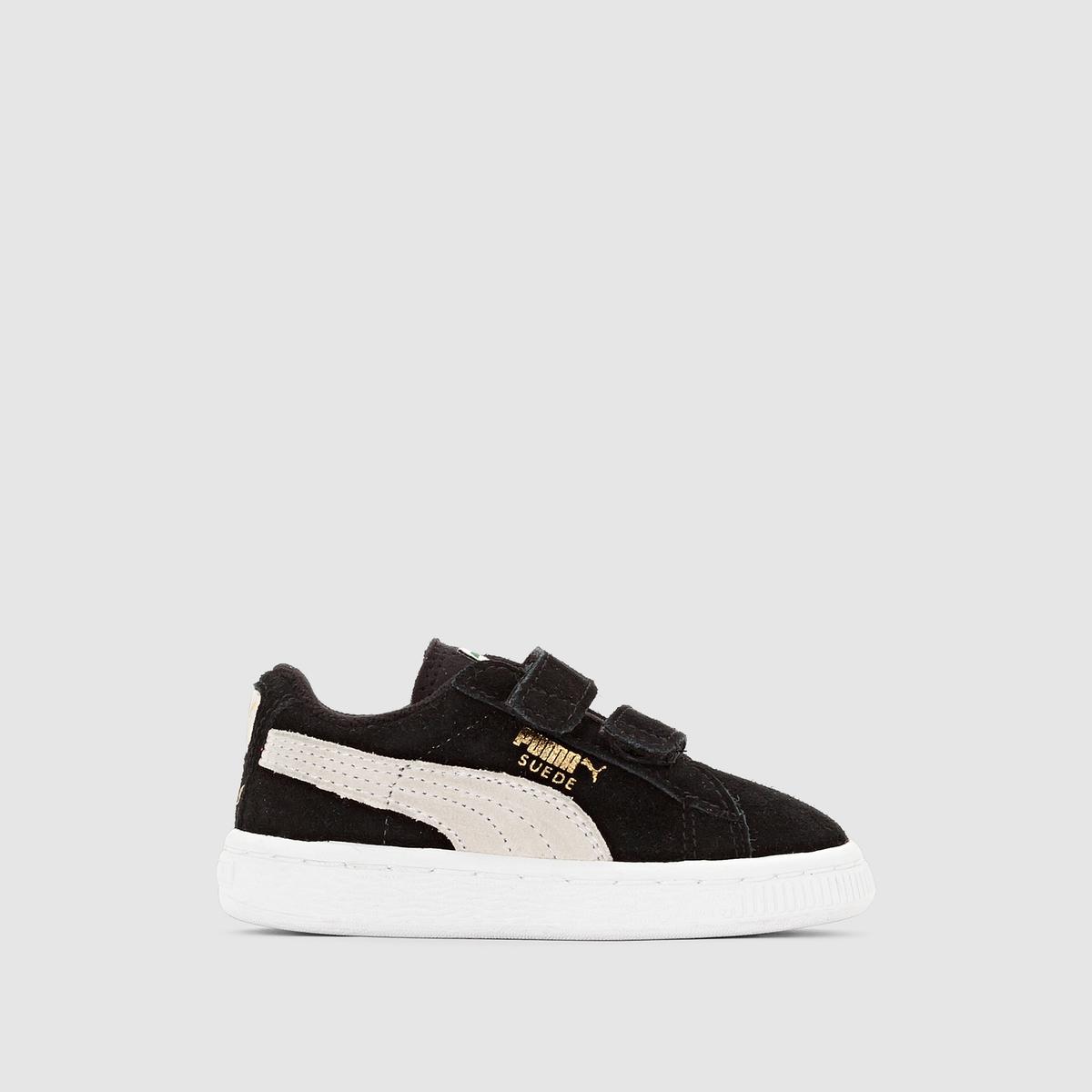 cecdd208d1e Puma Suède 2 Straps Infant sneakers zwart - Frontrunner.nl