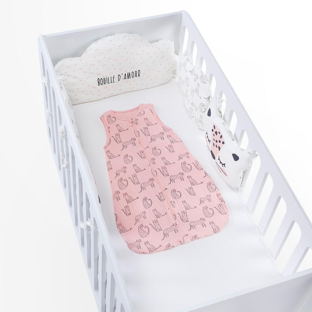 Полог La Redoute С рисунком единый размер розовый ковер la redoute горизонтального плетения с рисунком цементная плитка iswik 120 x 170 см бежевый