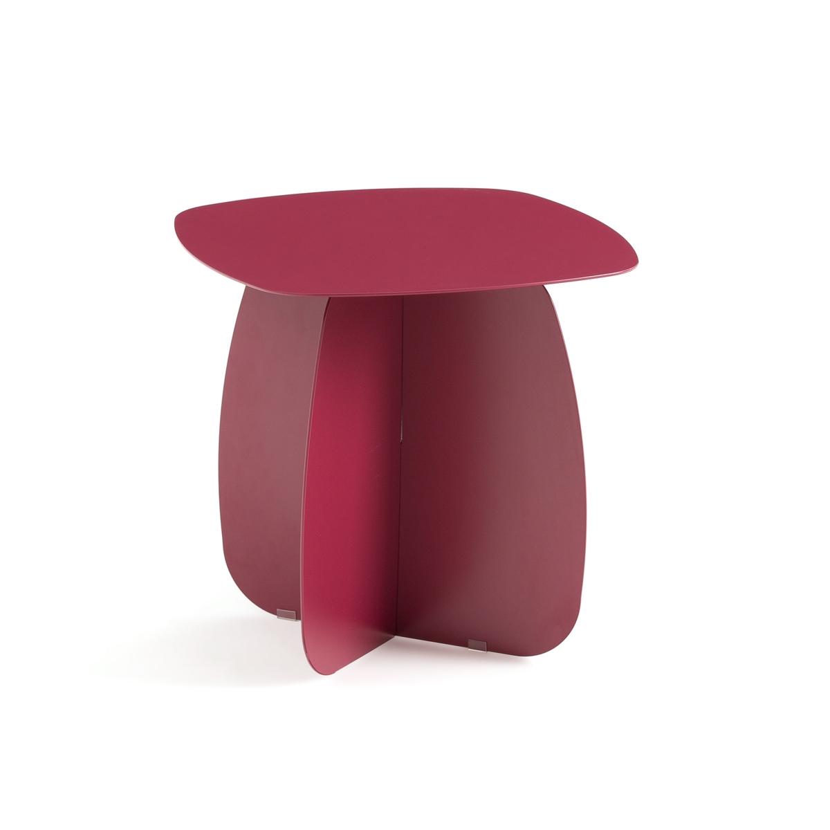 Стол La Redoute Диванный из металла Orian единый размер красный столик диванный из бамбука quesada
