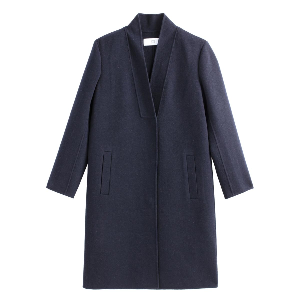 Abrigo de lana mezclada