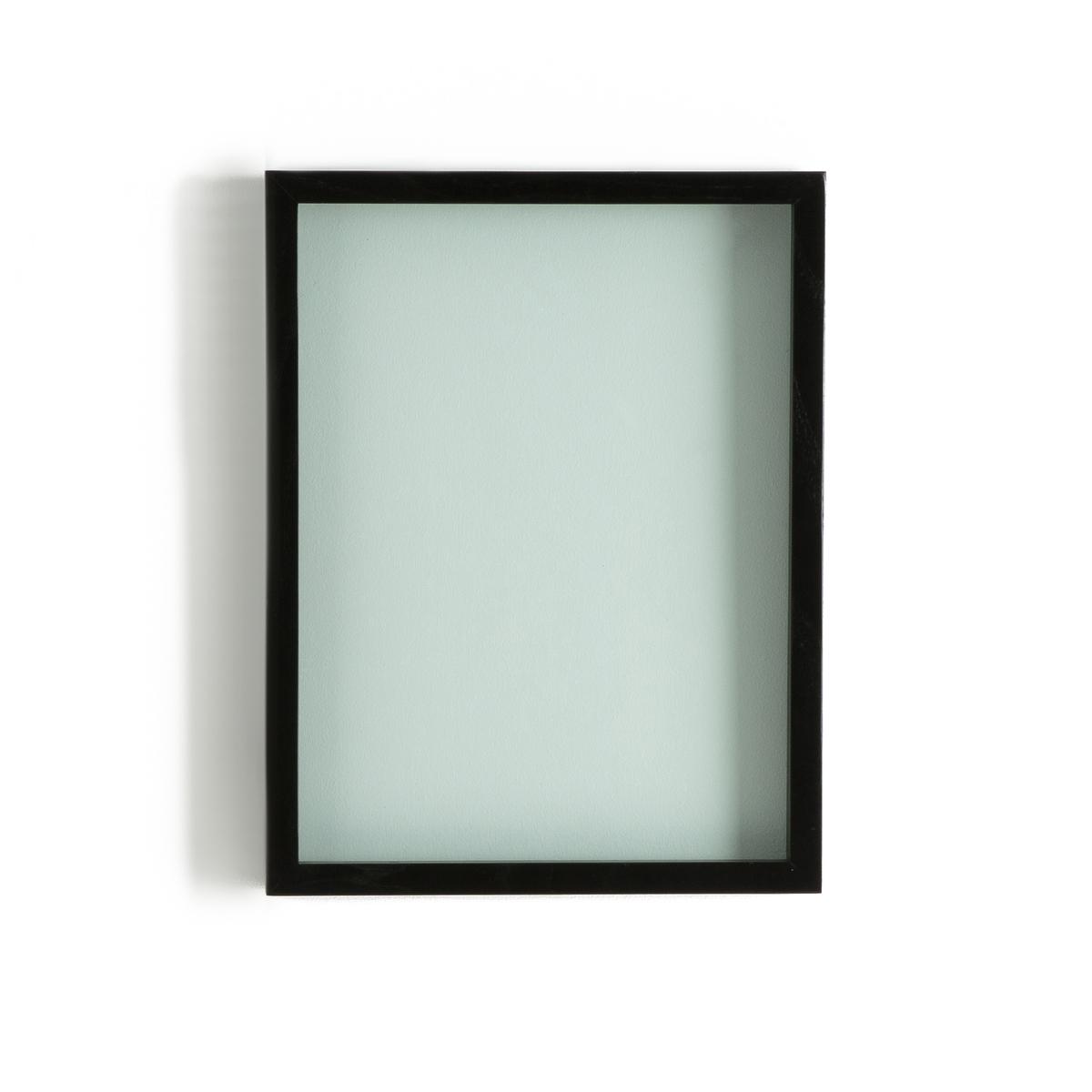 Рамка 3D DidaraРамка 3D Didara. Красивая и оригинальная рамка с двойным стеклом идеальна для размещения Ваших фотографий или растений..... Характеристики : Рамка из ясеня с черным покрытием .Двойное стекло : толщина 1,2 см.Размеры : - 34 x 44 см<br><br>Цвет: черный