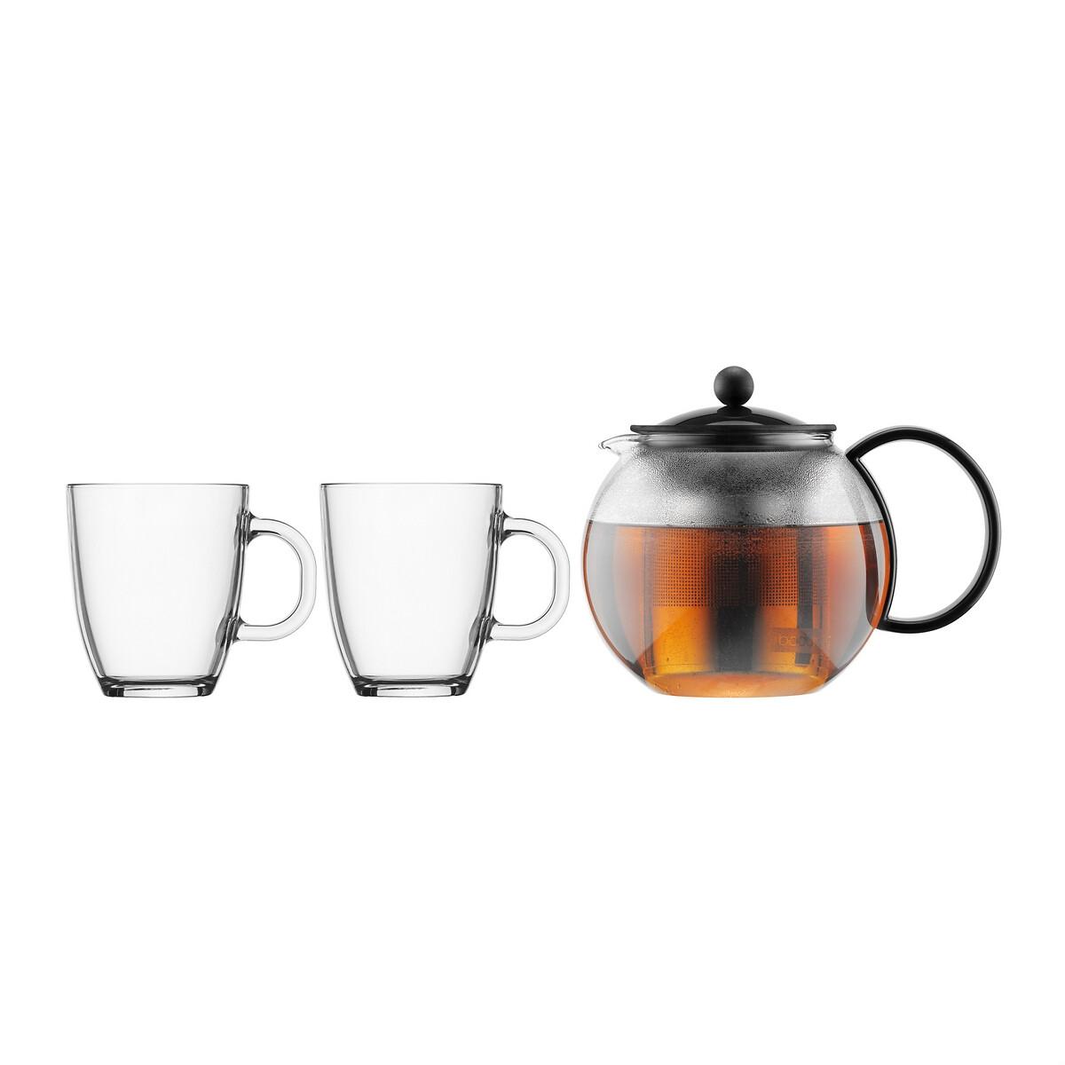 Théière Assam avec 2 mugs K1805-01