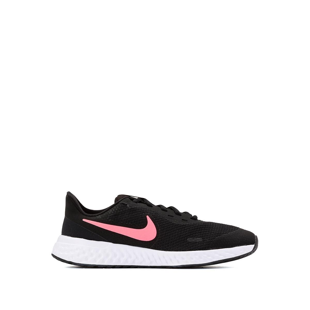 Nike revolution 5 hardloopschoenen zwart/roze kinderen online kopen