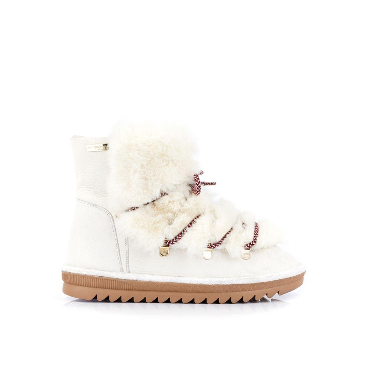 Boots cuir montagne fourrées Laurence