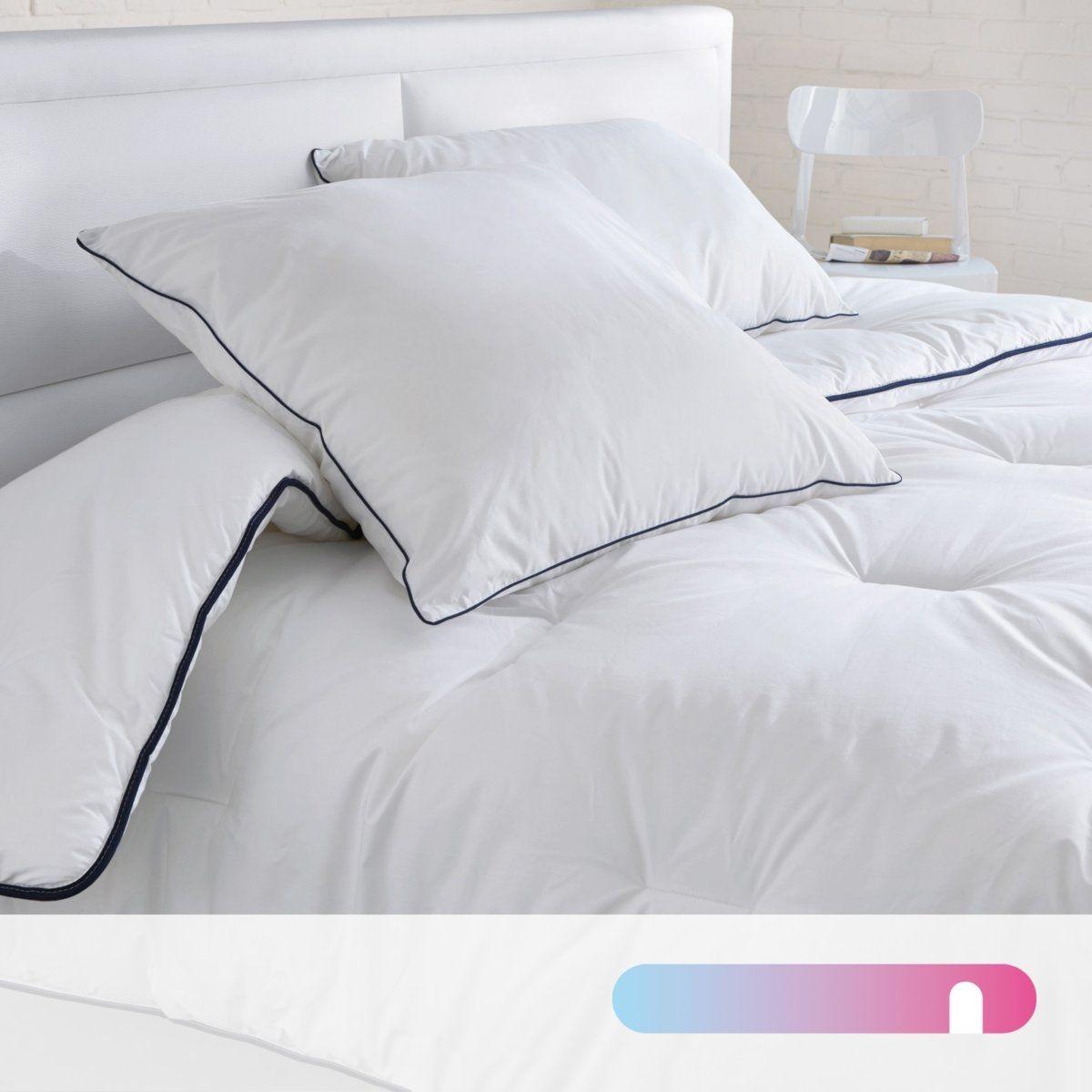 Couette polyester 500g/m2, traitée anti acariens