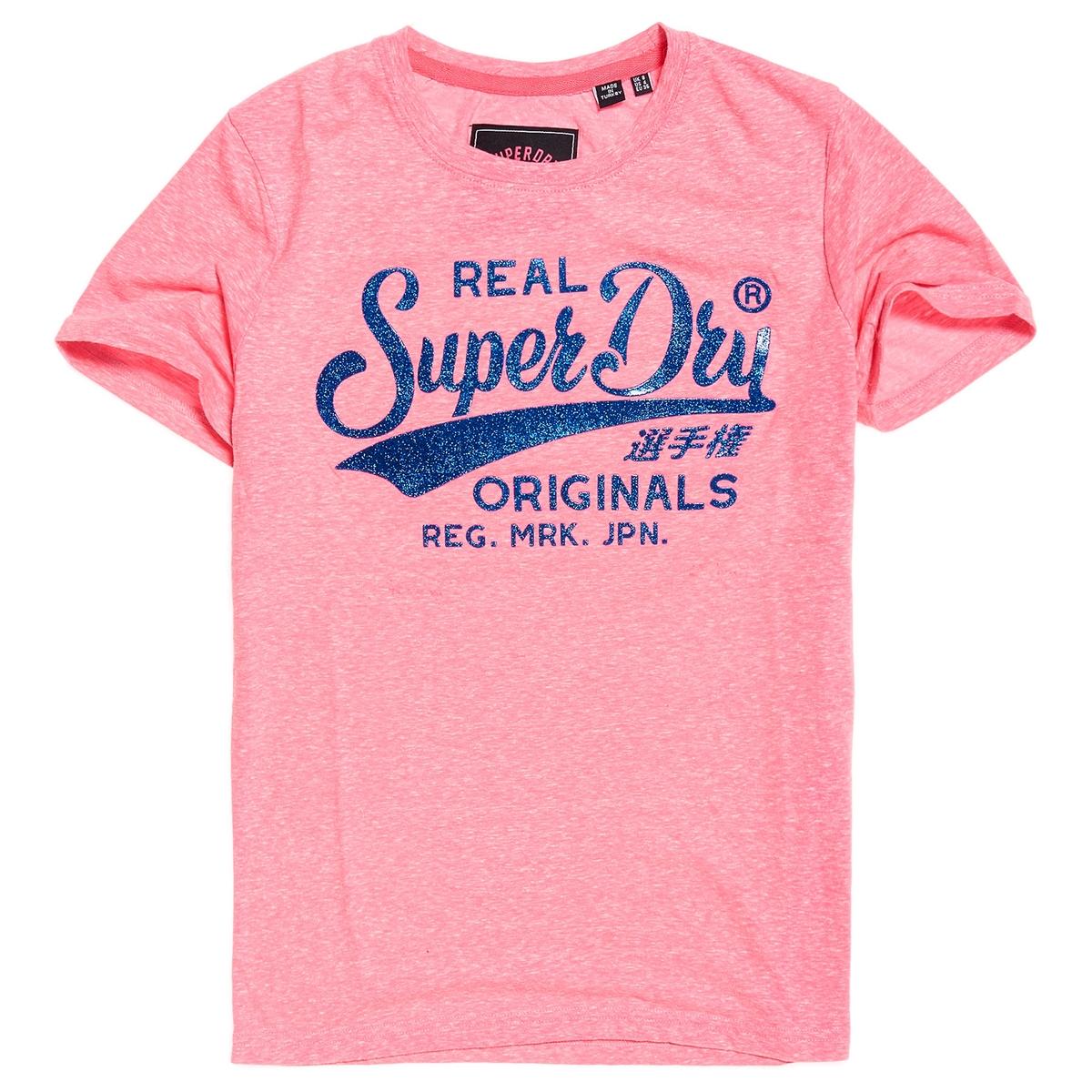 Imagen adicional 2 de producto de Camiseta con estampado delante Real Originals - Superdry