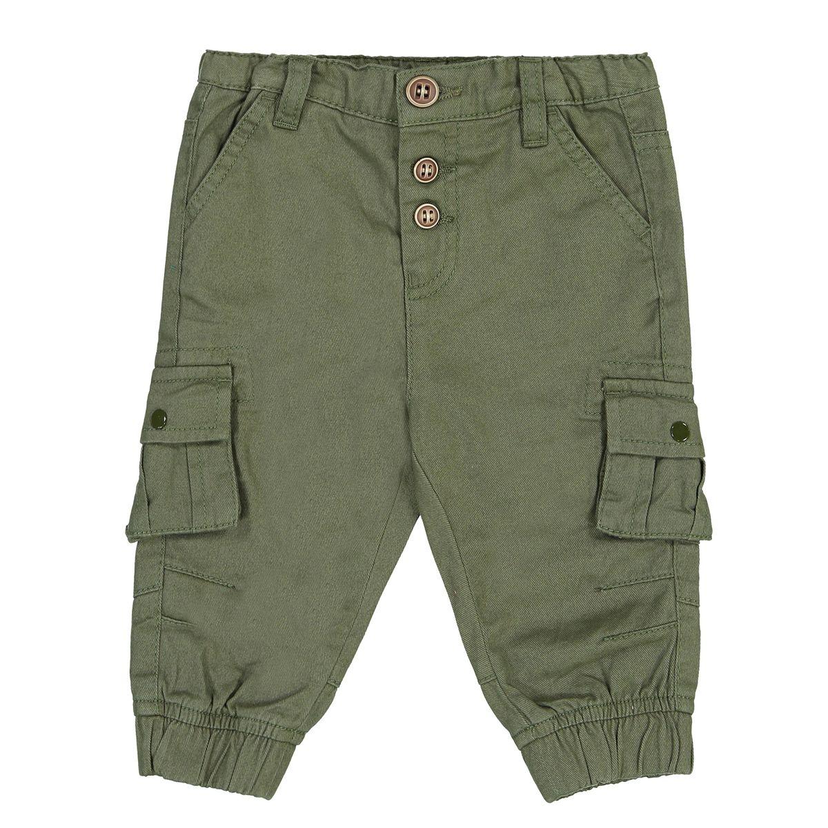Pantalon loose en twill 1 mois -3 ans
