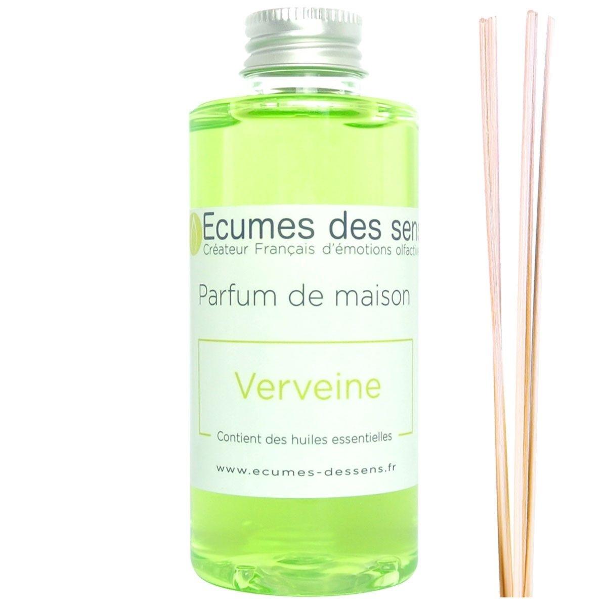 Parfum de maison senteur Verveine enrichi en huiles essentielles