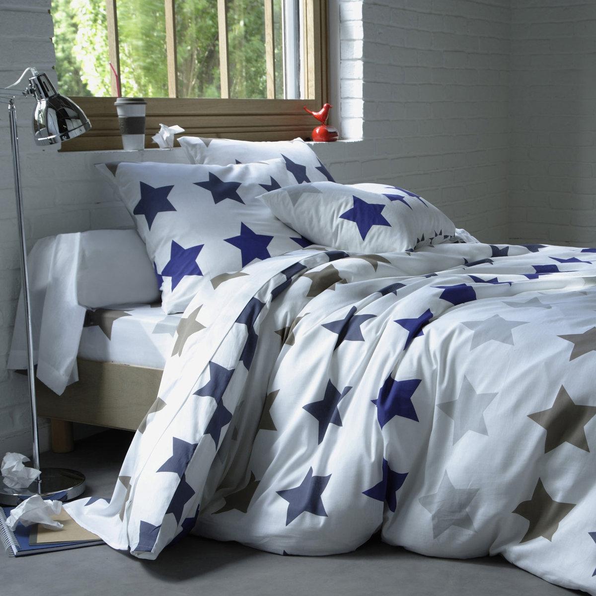 Capa de edredron em algodão STARS