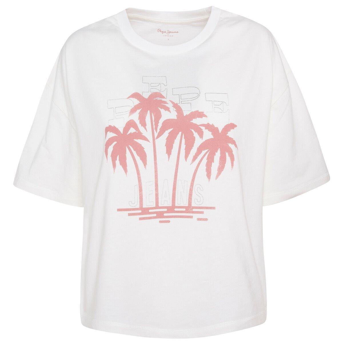 T-shirt manches courtes, imprimé devant