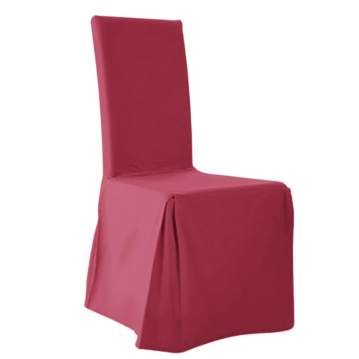2 чехла для стулаСтильная модель выполнена в ультрасовременной цветовой гамме.Характеристика чехла для стула:- Красивая плотная ткань из 100% хлопка (220 г/м?), прочная и тяжелая. Стильная цветовая гамма.- Изысканная отделка: 2 встречные складки спереди, встречная складка и бант сзади. Качественная окраска: превосходная стойкость цвета перед воздействием солнечных лучей и стирки (40°).Размеры чехла для стула:- Спинка: общая высота 55 см, толщина 5 см, ширина 37 см.- Сидение: ширина от 37 до 45 см x глубина 40 см.- Юбка: высота 45 см.В комплекте 2 чехла одного цвета.Качество VALEUR SURE. Производство осуществляется с учетом стандартов по защите окружающей среды и здоровья человека, что подтверждено сертификатом Oeko-tex®.<br><br>Цвет: белый,медовый,серо-коричневый,серый жемчужный,сине-зеленый,синий индиго,сливовый,темно-серый,черный,экрю<br>Размер: единый размер.единый размер.единый размер