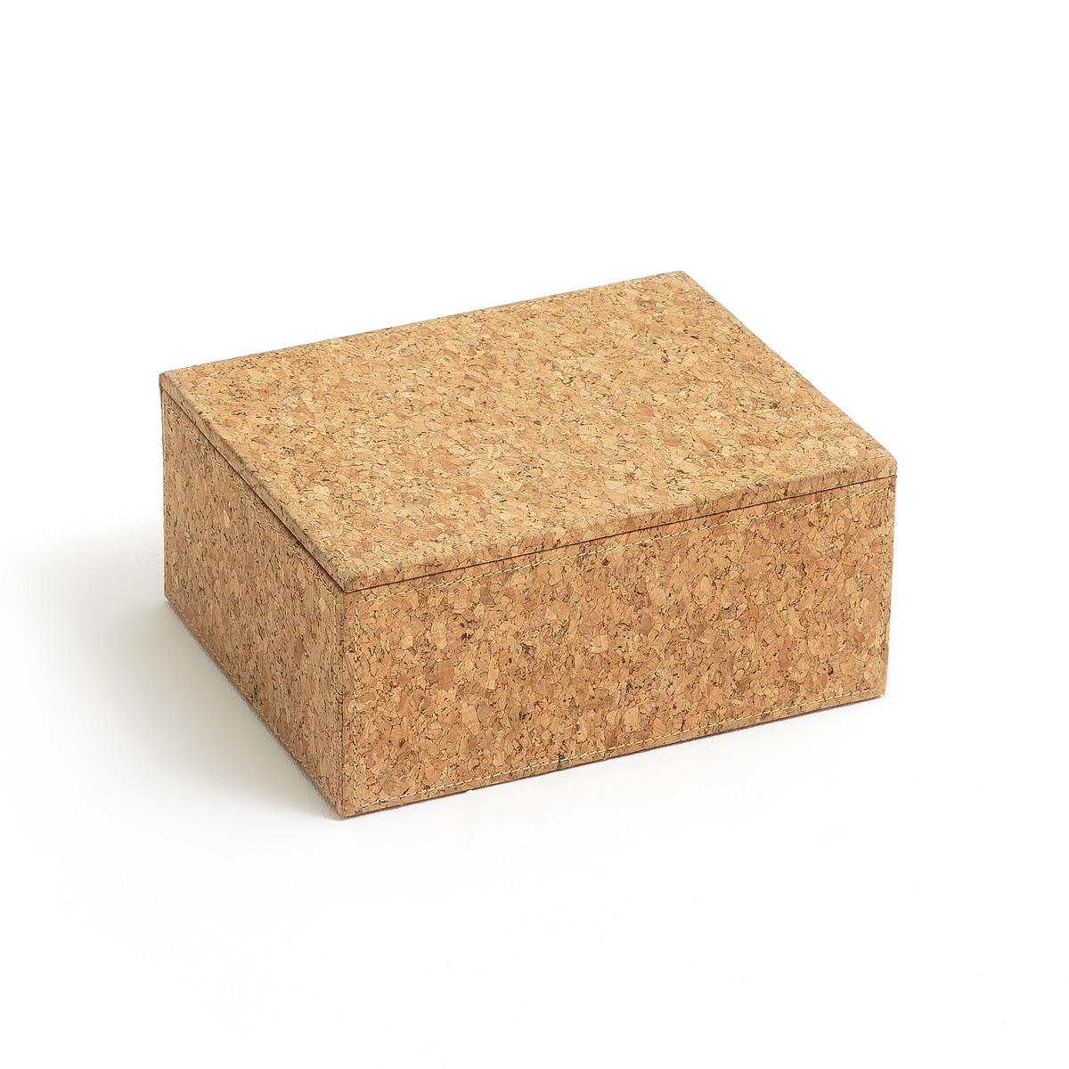 Коробка для храненияОписание:Коробка для хранения. Из натурального материала, его форма идеально подходит для хранения ваших документов, украшений и аксессуаров.Характеристики коробки :Коробка из пробкиПрямоугольная формаКаркас из картонаВнутренняя подкладка из плетеного полиэстераРазмеры коробки :В.9,5 x 21 x 16 смРасцветка : Натуральная Размеры и вес упаковки:57 x 27 x 49 см, 6 кг<br><br>Цвет: серо-бежевый