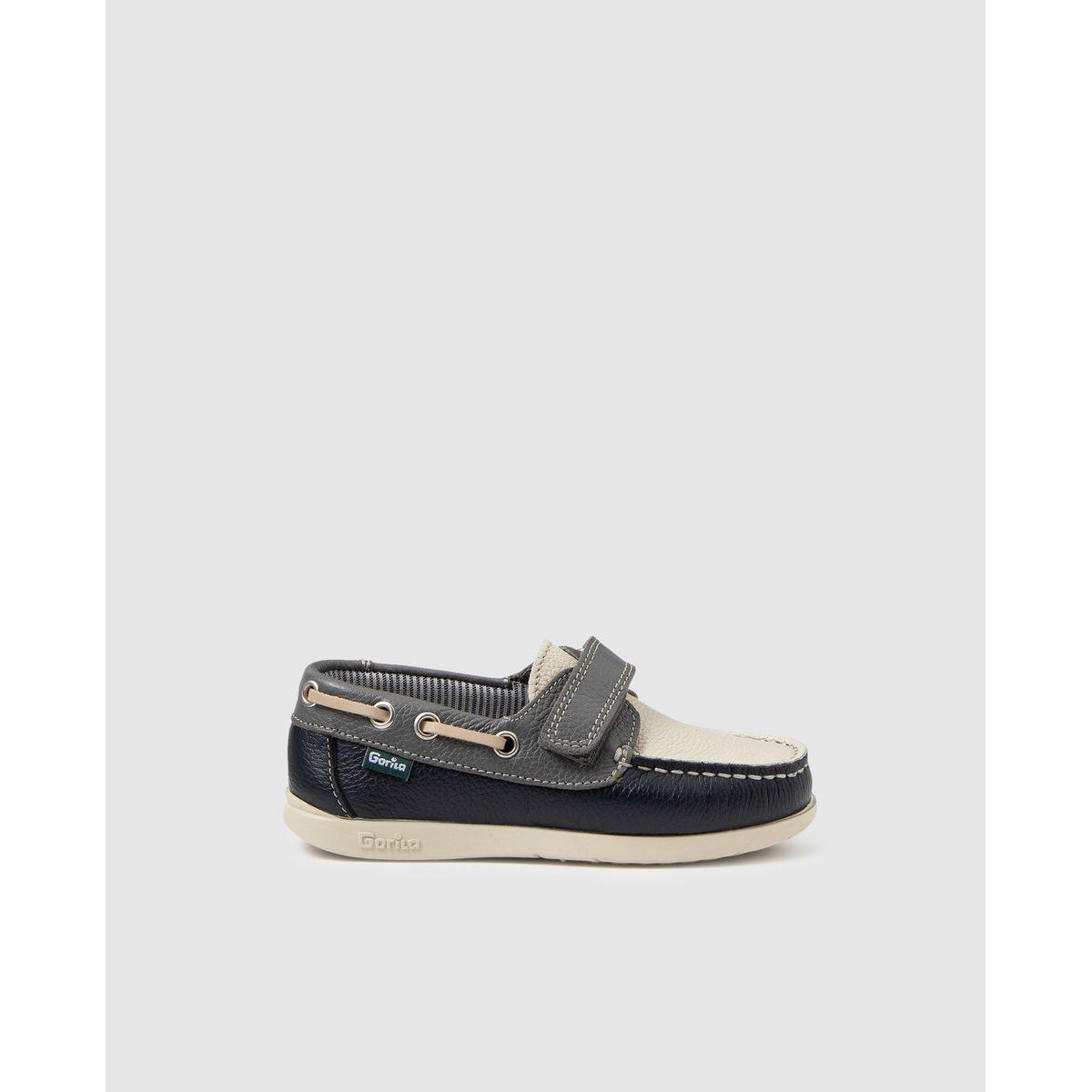 Chaussures bateau  beige et