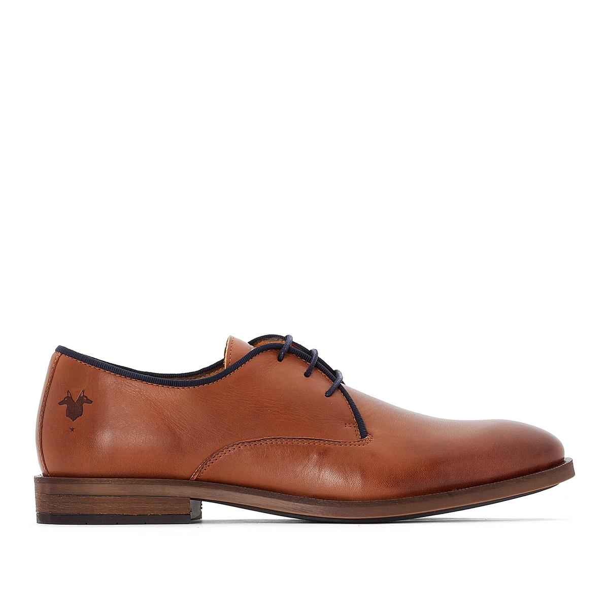 Ботинки-дерби кожаные Blaise ботинки дерби под кожу питона