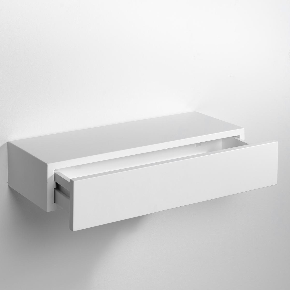 Полка-шкафчик VesperЭта полка-шкафчик незаметно крепится на стену. Можно использовать отдельно или соединять несколько шкафчиков вместе друг над другом.МДФ с лаковым покрытием - нитроцеллюлоза и полиуретан (модель под покраску из массива сосны).Размеры  : Шир..60 x.25 x.12 см.<br><br>Цвет: бежевый экрю,белый,черный