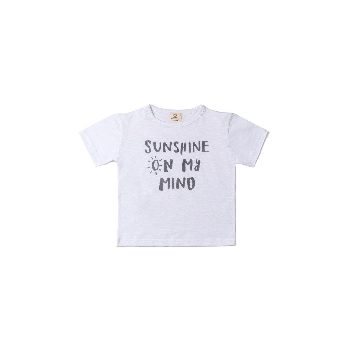 T-shirt coton bio SUNSHINE