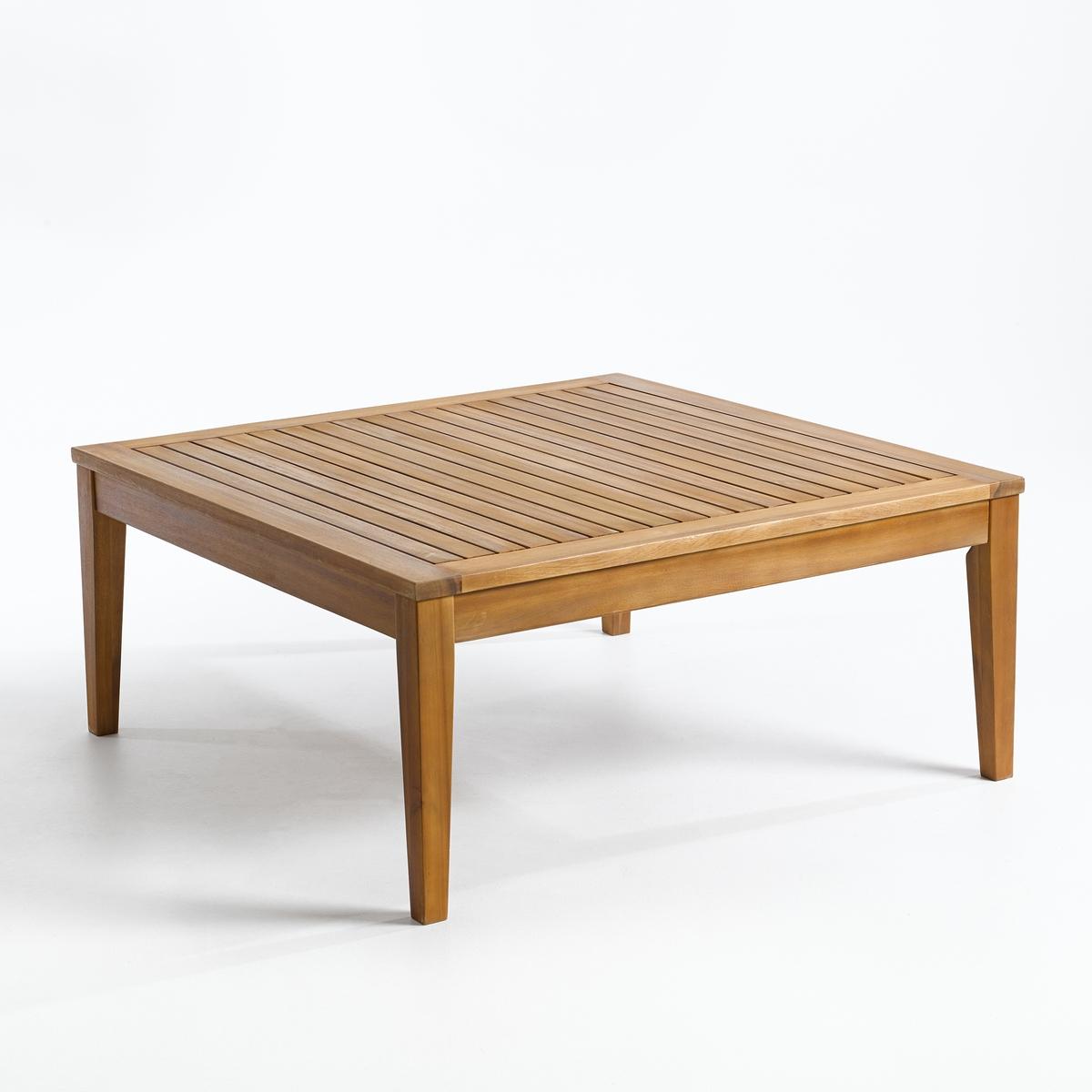 Столик журнальный для сада из акации, Cléanthe
