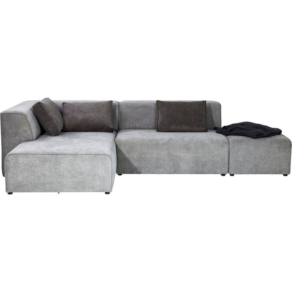 Canapé d'angle Infinity gauche Kare Design