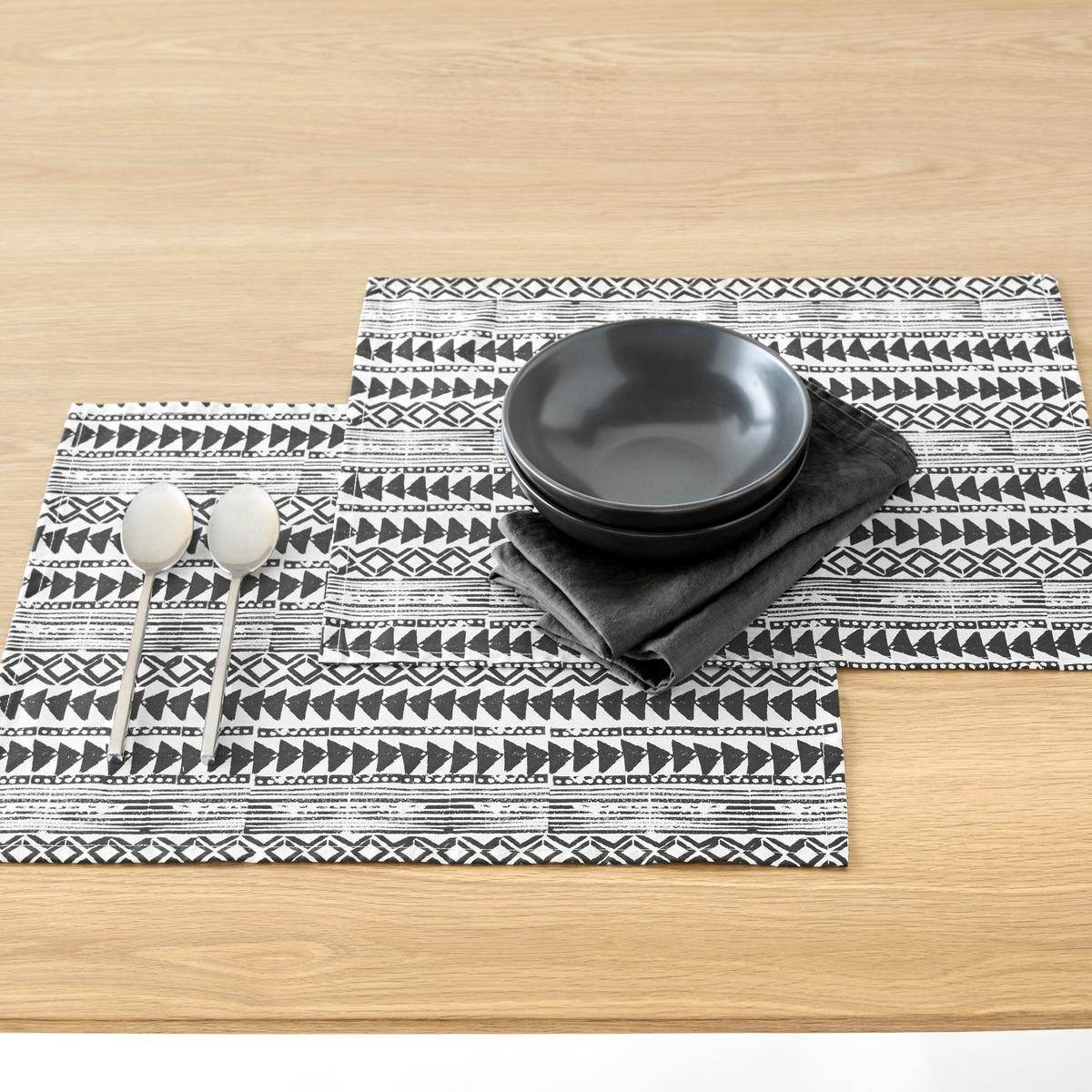 Подложка под столовые приборы TIEBELE (2 шт.) набор подложек под столовые приборы феникс презент чашка чая 45 см х 30 см 4 шт 37380