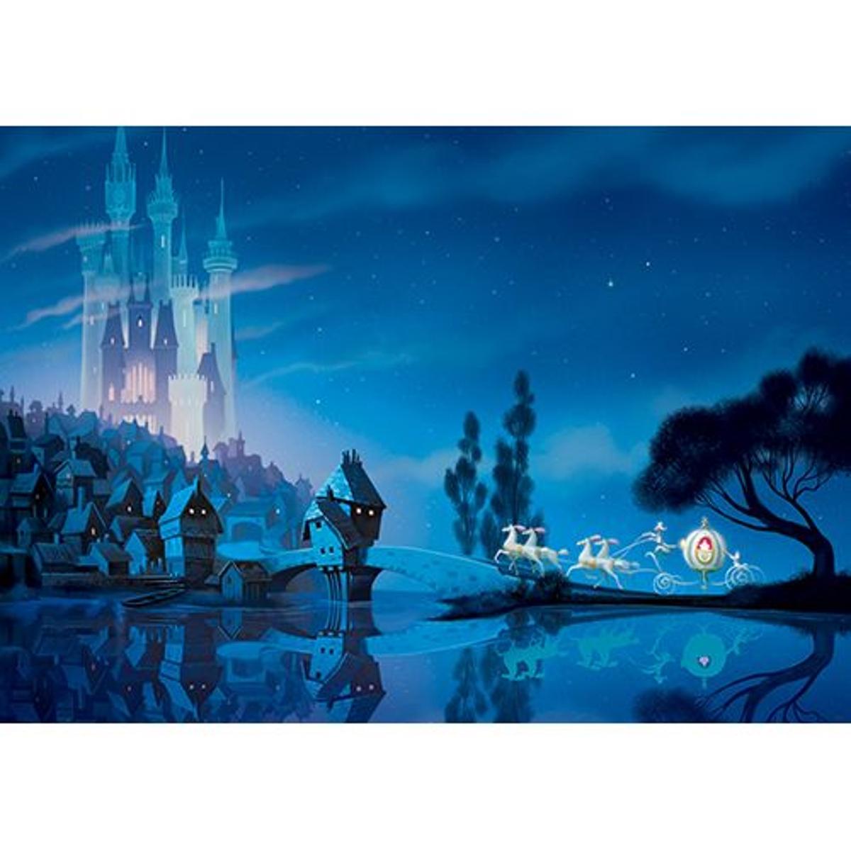 papier peint Disney Princess; Kopciuszek, Cinderella- 254 x 184 cm