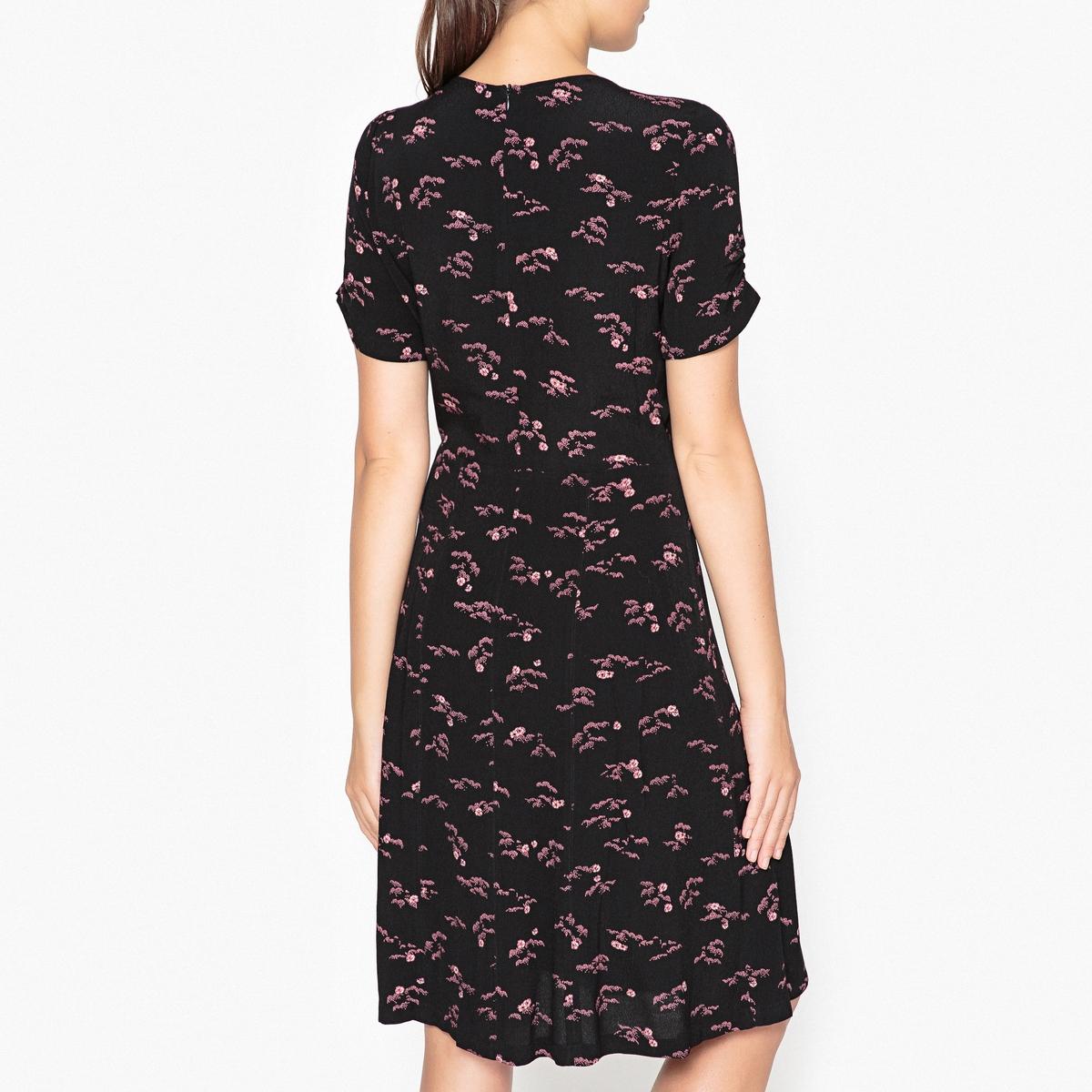 Платье с рисунком MISS FLOWERS