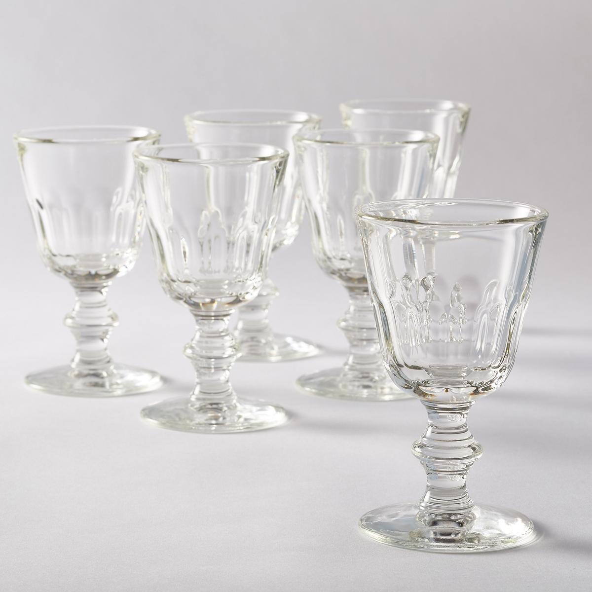 6 ребристых стаканов для вина, Ibidem